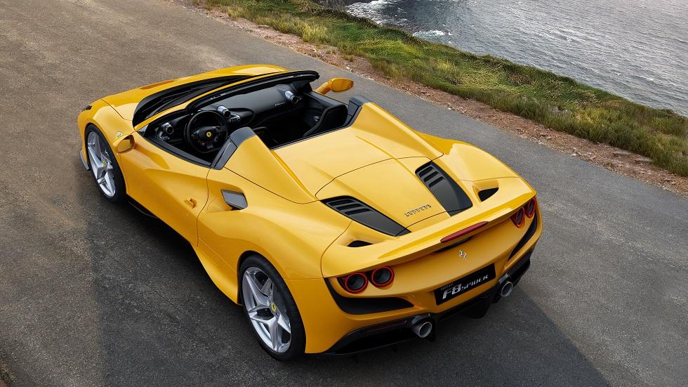 Ferrari F8 Spider, el mejor V8, también en versión descapotable
