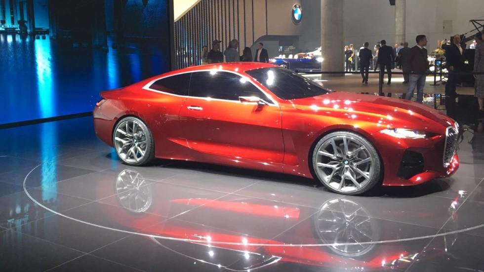 BMW Concept 4: la base de la nueva berlina eléctrica i4 que llegará en 2021