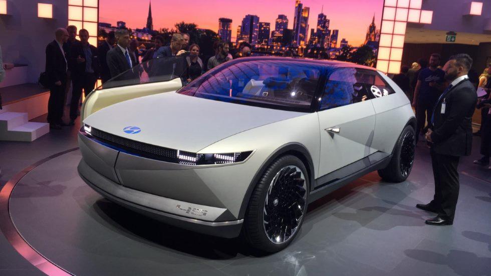 Hyundai 45 EV Concept, así será la futura movilidad eléctrica