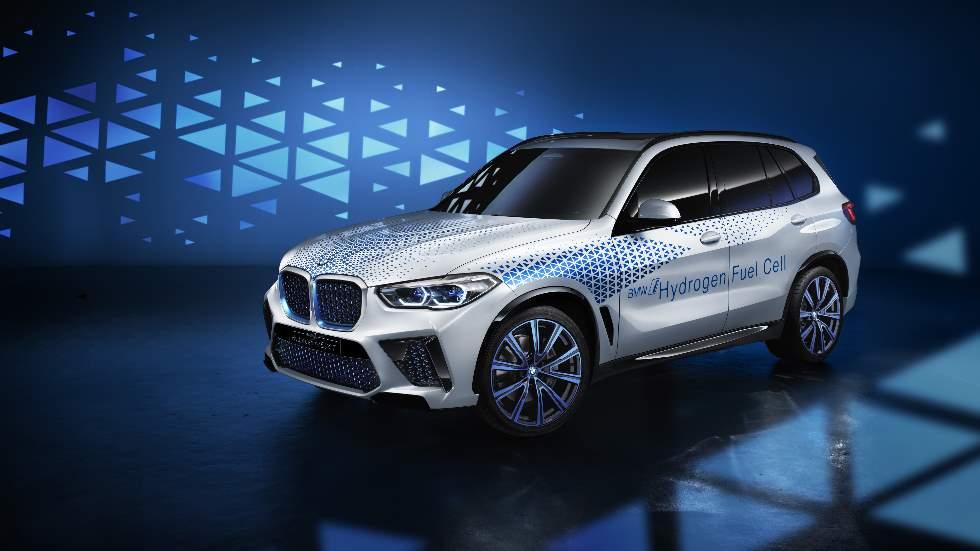 BMW i Hydrogen Next, un SUV de pila de combustible de hidrógeno para el futuro
