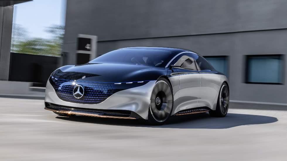 Mercedes-Benz Vision EQS: una berlina eléctrica, de lujo y muy personal
