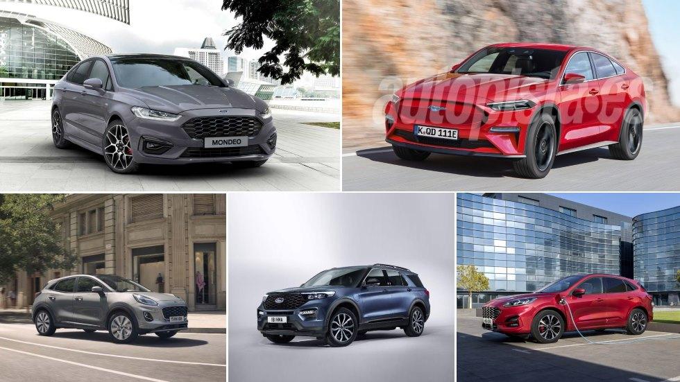 Todos los nuevos Ford que llegan ya: Puma, Kuga, Explorer, Mondeo…