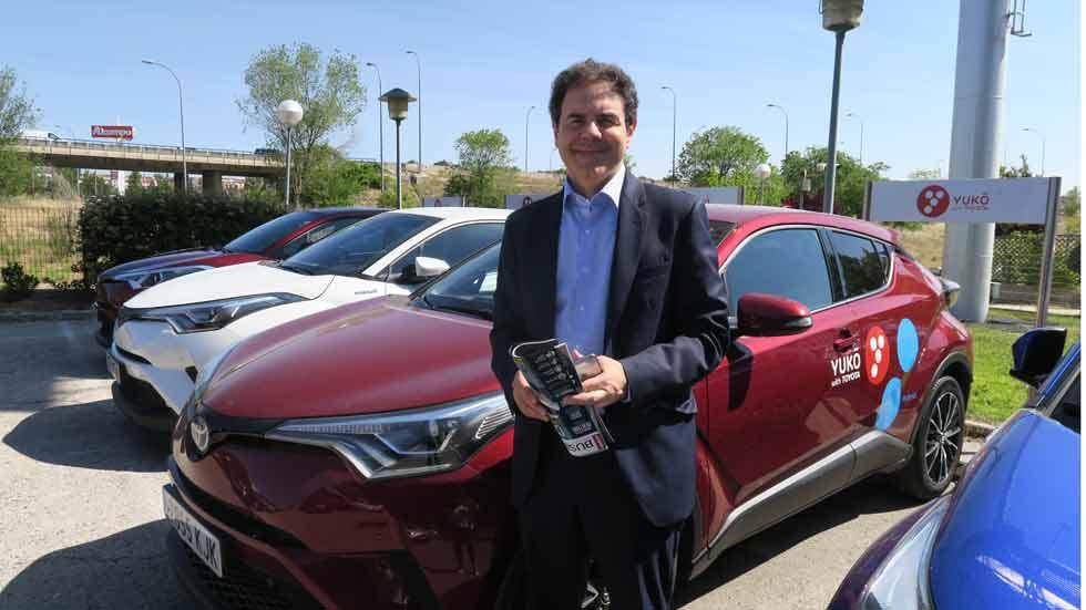 Así es Yuko, el carsharing para empresas de Toyota: nos lo cuenta Manuel Adánez