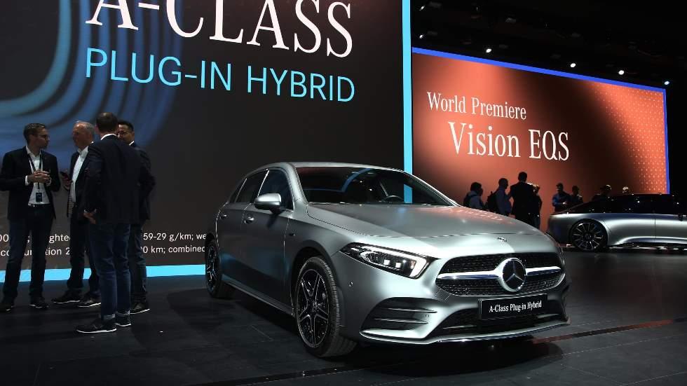 Mercedes A 250e y B 250e: los nuevos compactos híbridos enchufables