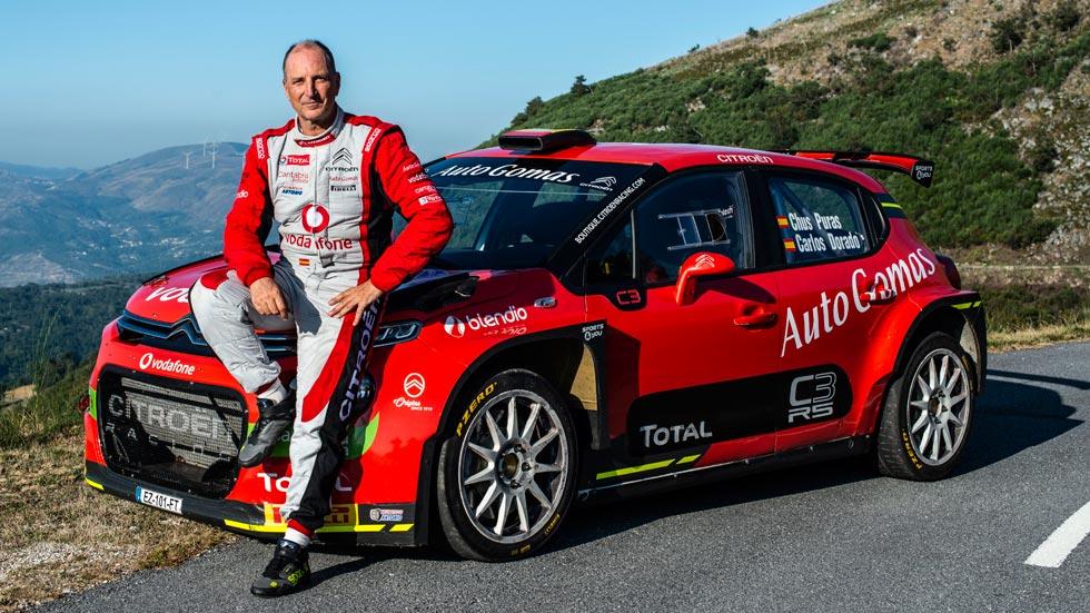 Chus Puras regresa al Nacional de Rallyes con Citroën (ENTREVISTA)
