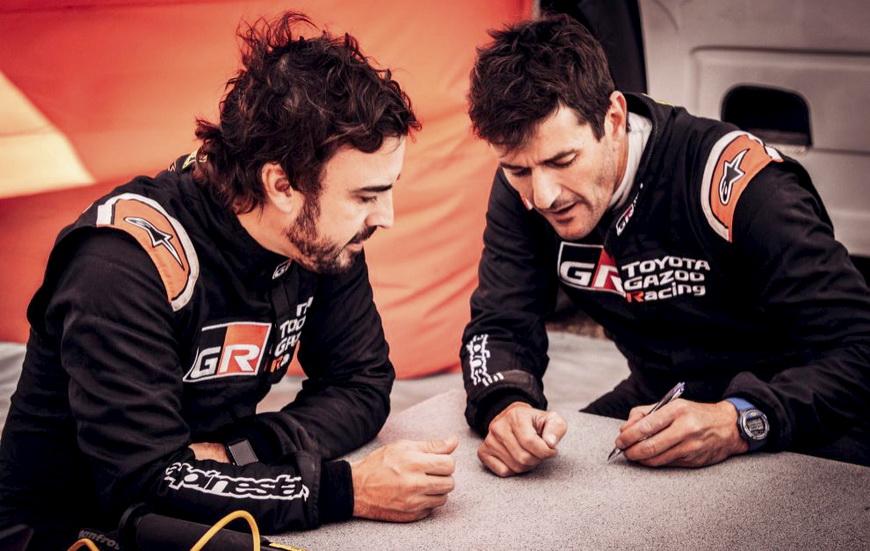 Debut de Alonso-Coma en Rallye Raid en la sudafricana Lichtenburg 400