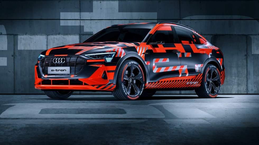 Audi e-tron Sportback: nuevas imágenes y datos oficiales del nuevo modelo