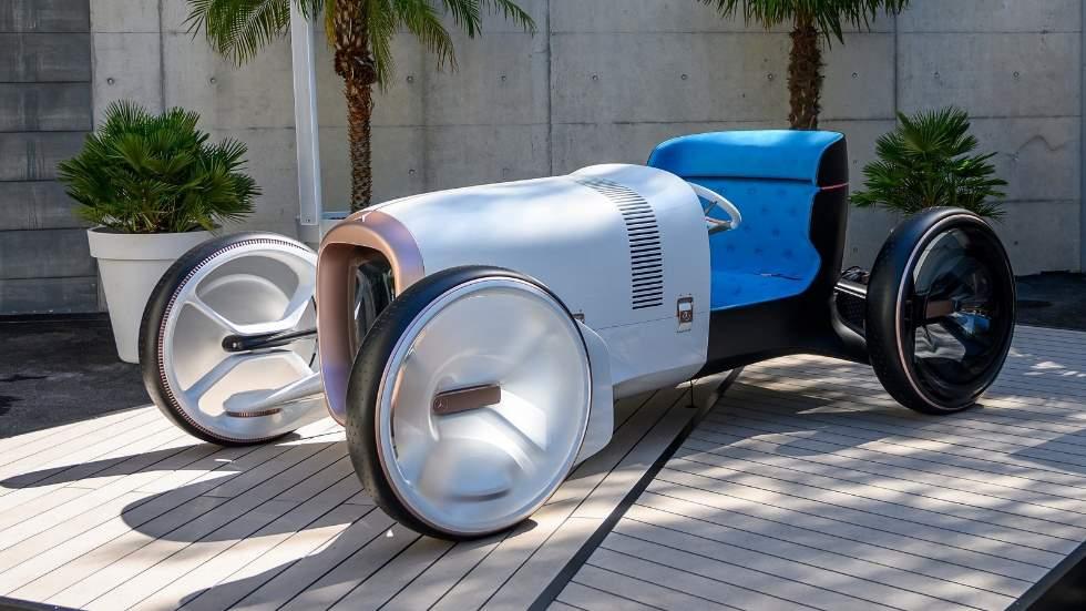 Mercedes Vision Simplex Concept: un roadster clásico con los ojos en el futuro