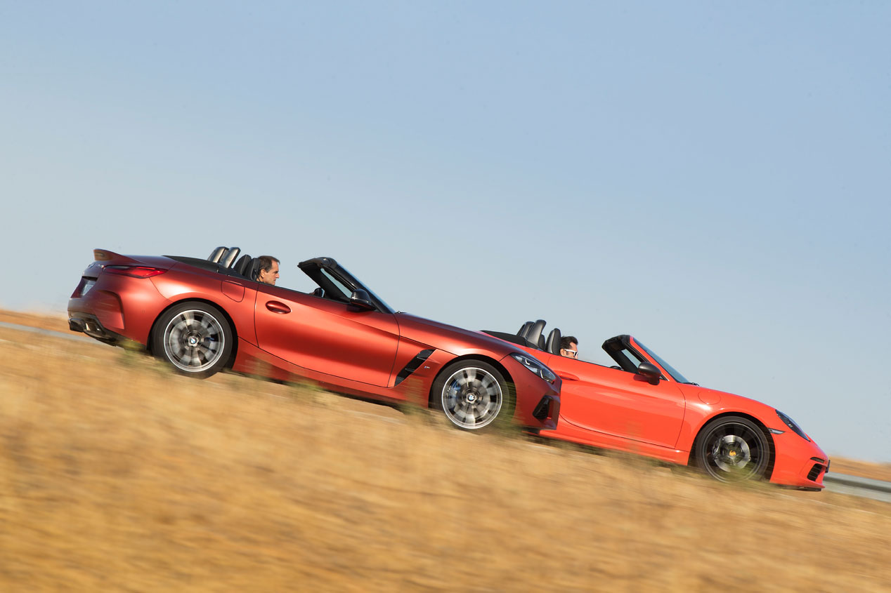 BMW Z4 M40i y Porsche 718 Boxster T: ¿qué descapotable deportivo es mejor?