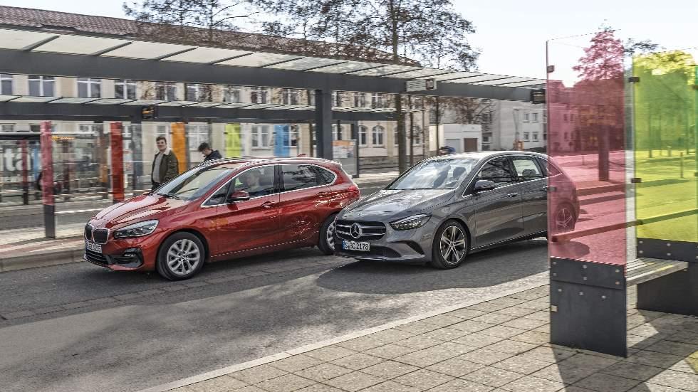 BMW Serie 2 Active Tourer vs Mercedes Clase B: buscamos el mejor coche familiar diésel