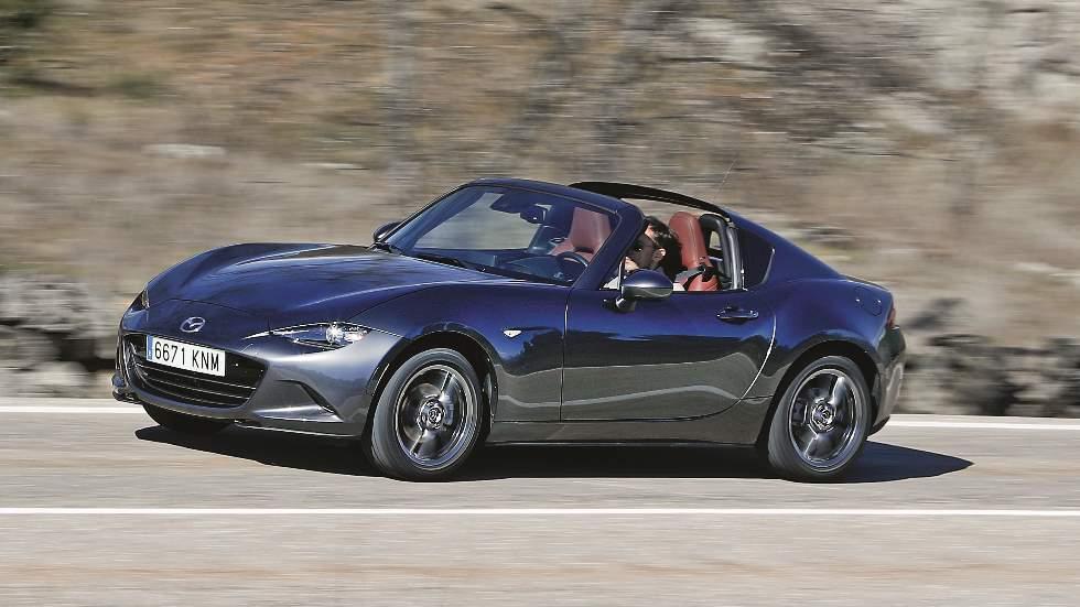 Mazda MX-5 1.5 Zenith Sport RF: la felicidad en frasco pequeño