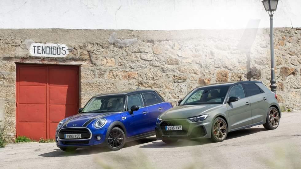 Audi A1 vs Mini Cooper de 5 puertas: a prueba dos juguetes para mayores