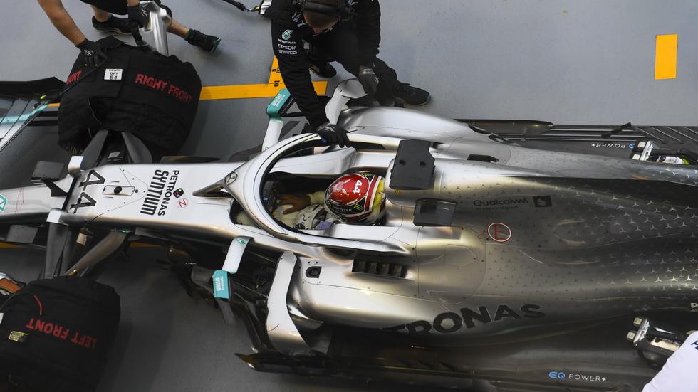 GP de Singapur de F1 (FP2): Hamilton el más rápido y Sainz séptimo