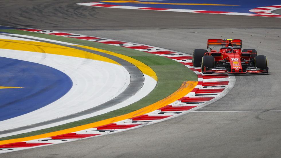 GP de Singapur de F1 (FP3): Leclerc, el más rápido en los libres