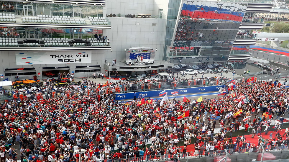 GP de Rusia de F1: al circuito de Sochi por sexta vez consecutiva