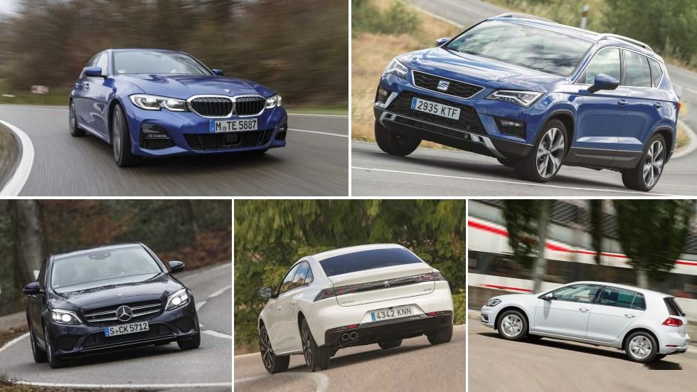 Las marcas que más coches diésel venden (todavía) en España