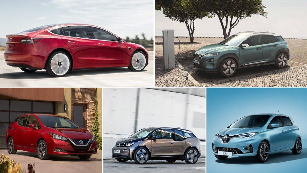 Las marcas que más eléctricos venden en España… y los coches líderes