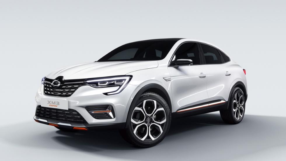 XM3 Inspire: así es el SUV coupé que Renault lanzará en 2020