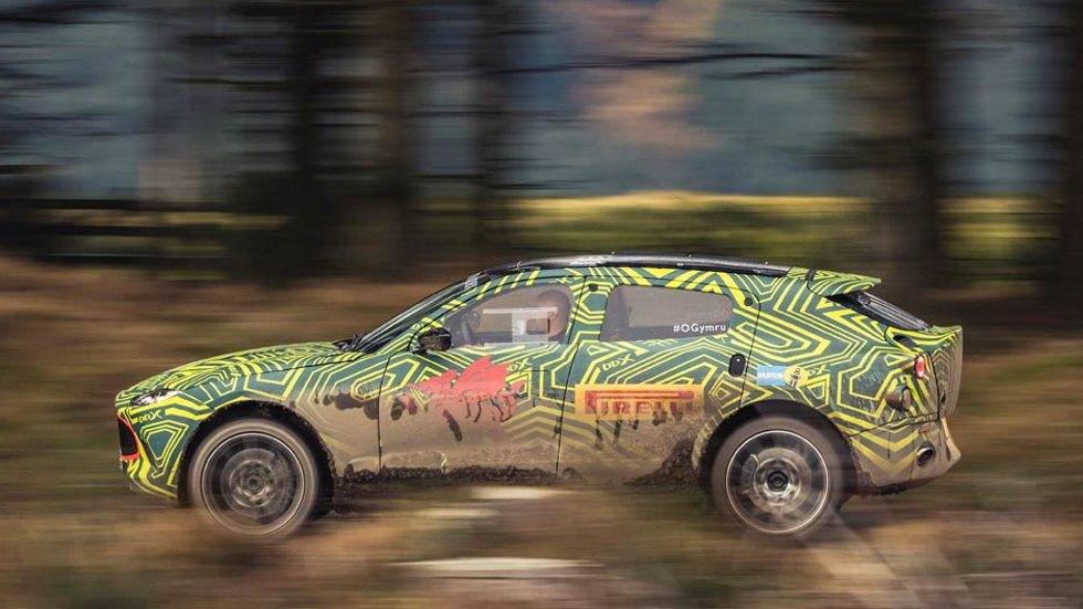 Aston Martin DBX 2020: el primer SUV de la marca se presenta en diciembre