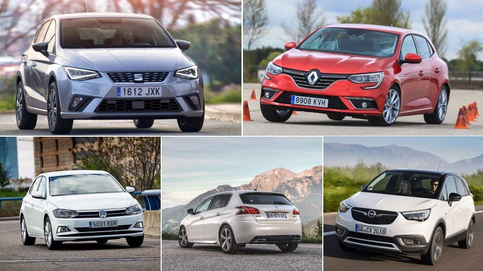 Las marcas que más coches de gasolina venden en España