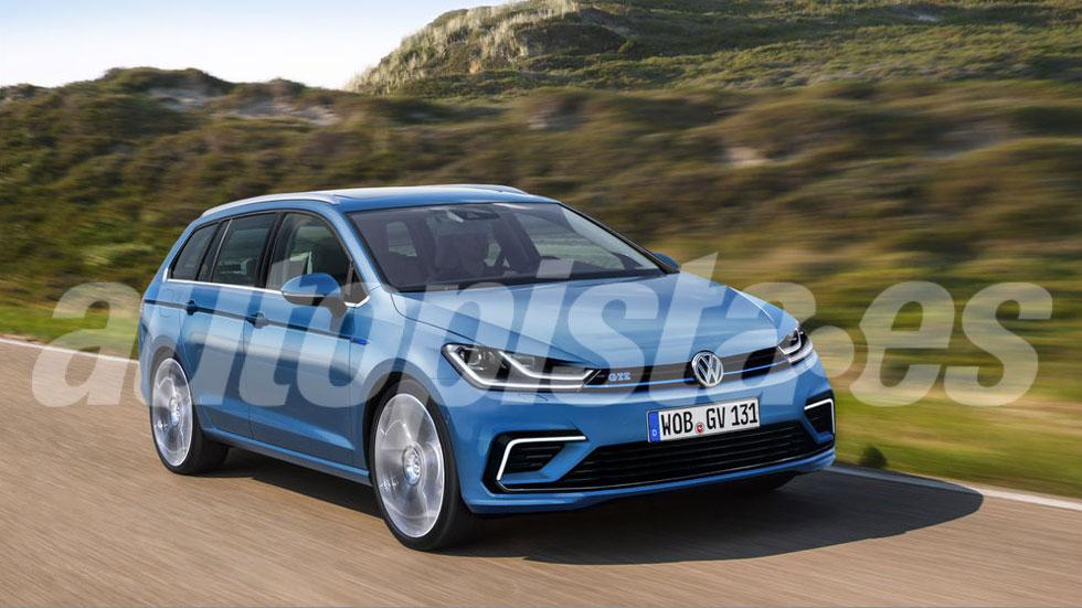 Volkswagen Golf 8 2020: el nuevo compacto tendrá también variante familiar