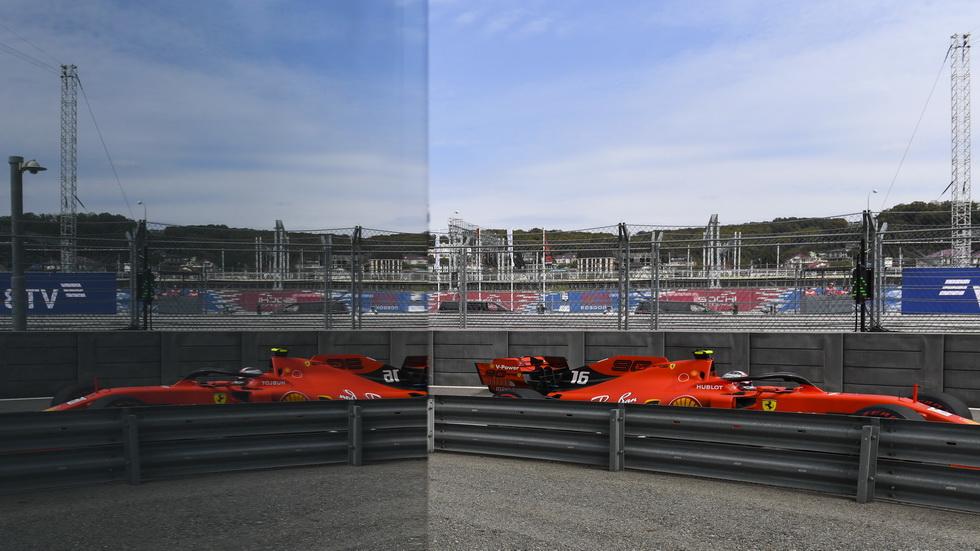 GP de Rusia de F1 (FP1): Leclerc, el más rápido en Sochi