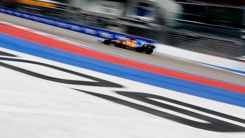 """GP de Rusia de F1: Sainz define su primer día en Sochi como """"regular"""""""