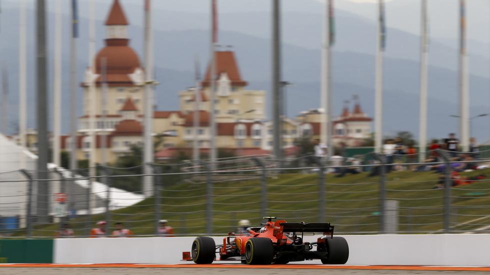 GP de Rusia de F1 (FP3): los Ferrari por delante del resto
