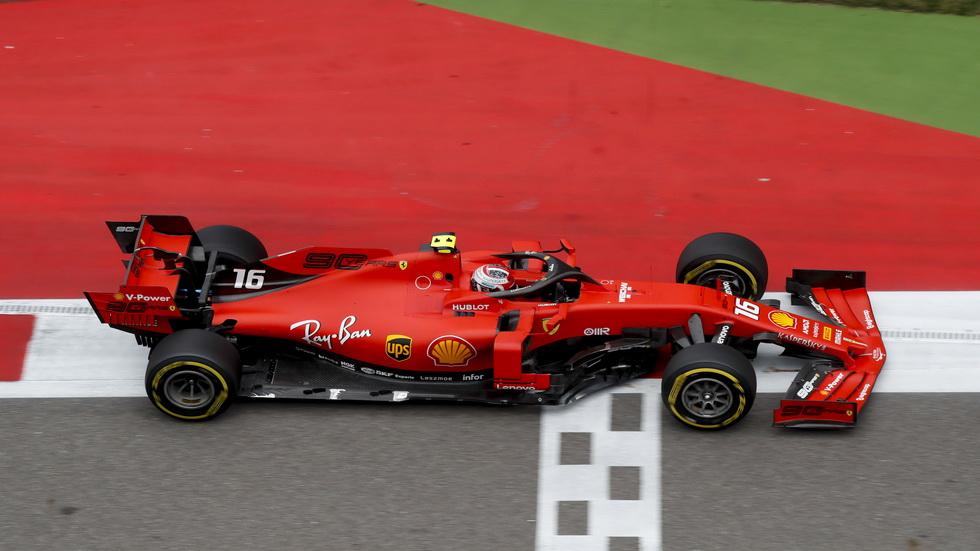 GP de Rusia de F1: impresionante pole para Leclerc, su cuarta consecutiva