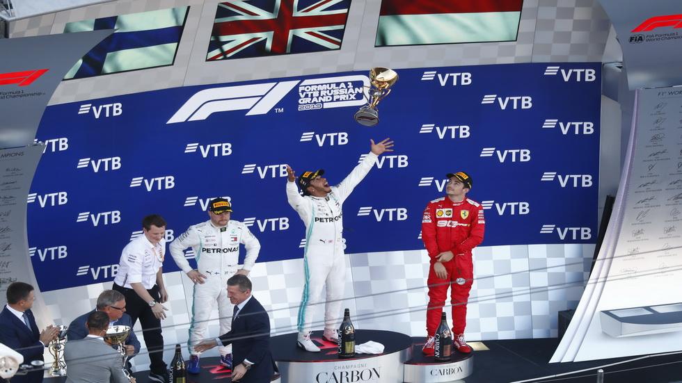 GP de Rusia de F1: Mercedes sigue dominando en Sochi