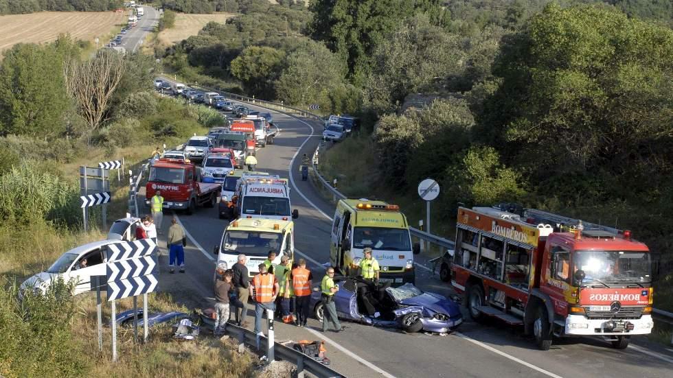 Las provincias con más riesgo de morir en un accidente de tráfico en España