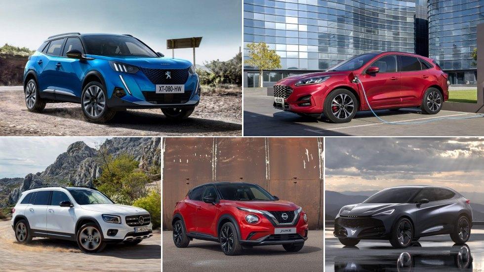 Todos los SUV que llegan a finales de 2019 y en 2020: Tucson, Kuga, Captur, 3008…