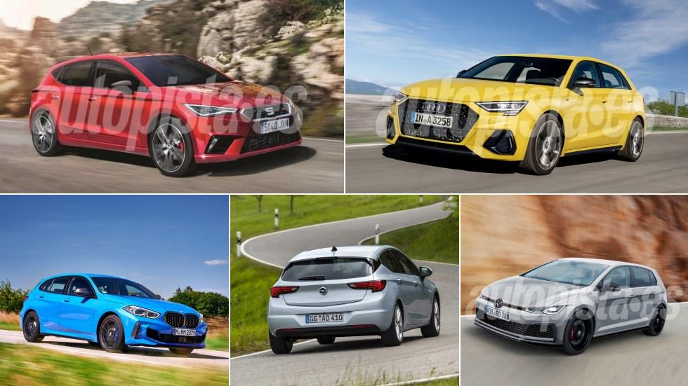 Todos los compactos que llegan a finales de 2019 y en 2020: Golf, León, Astra, i30…