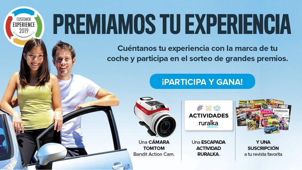 Premiamos tu experiencia: opina de coches y gana fantásticos premios