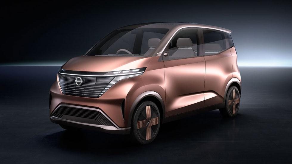 Nissan IMk: ¿el coche urbano del futuro?