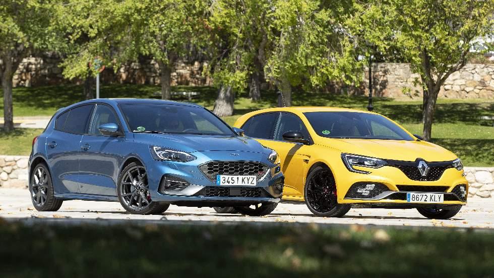 Ford Focus ST vs Renault Mégane RS: en busca del mejor compacto deportivo