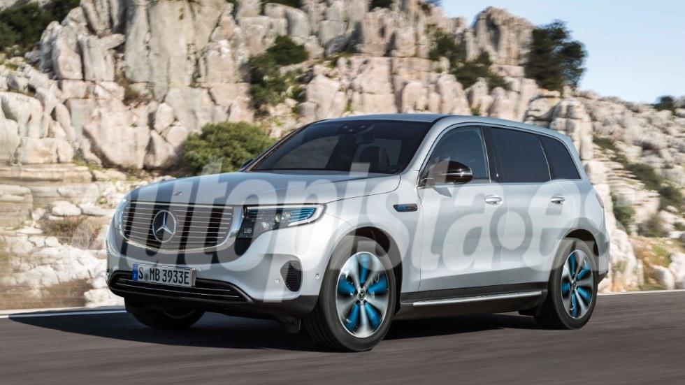 Mercedes EQB 2020: así será el nuevo SUV eléctrico basado en el GLB