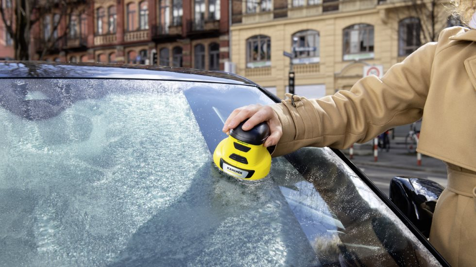 Karcher EDI 4: el raspador de hielo eléctrico definitivo para tu coche este invierno
