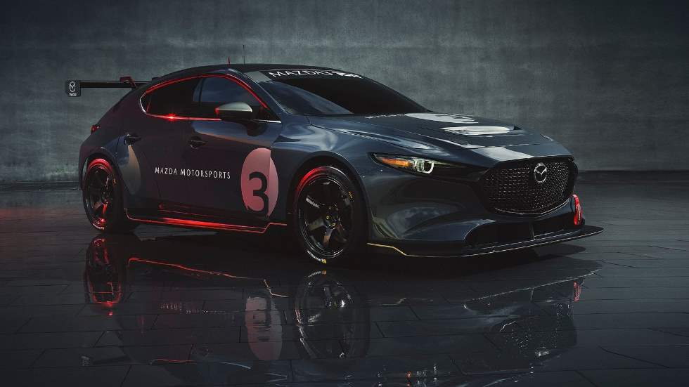 Mazda3 TCR 2020: fotos y datos del nuevo y espectacular coche de carreras