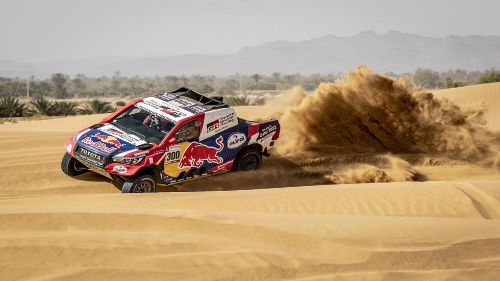 Alonso y Coma probaron en Marruecos como preparación del rally