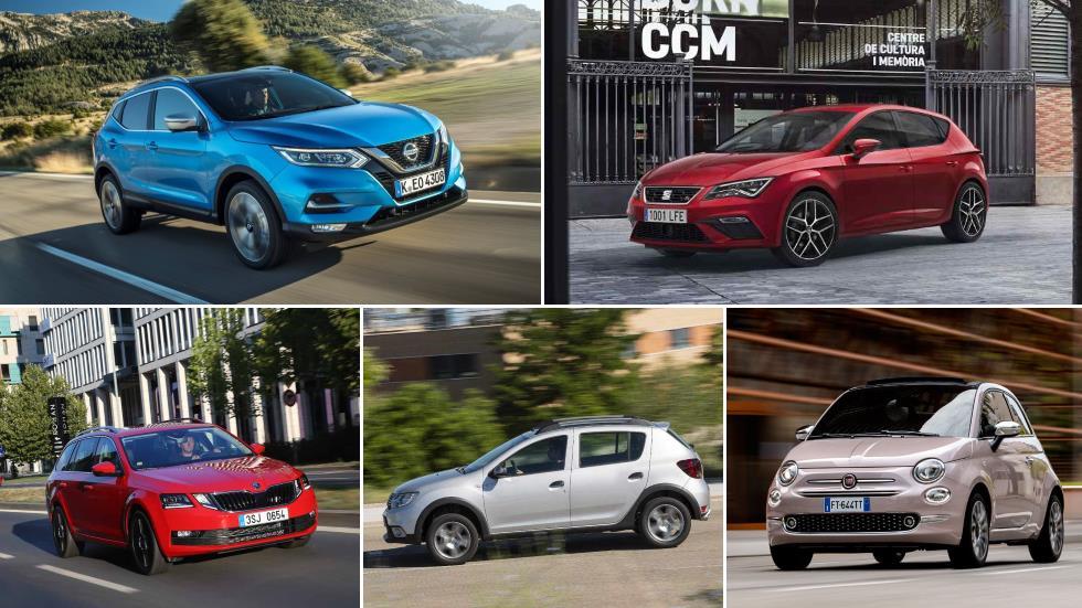 Los 5 coches más vendidos en España en 2019, en cada una de las 14 categorías