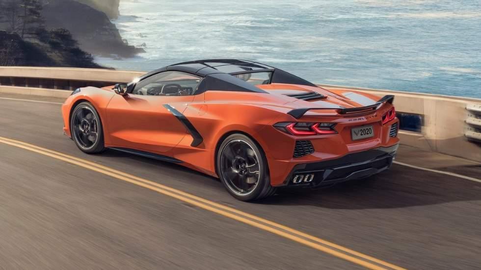 Chevrolet Corvette C8 Stingray Convertible 2020: puro espectáculo a cielo abierto