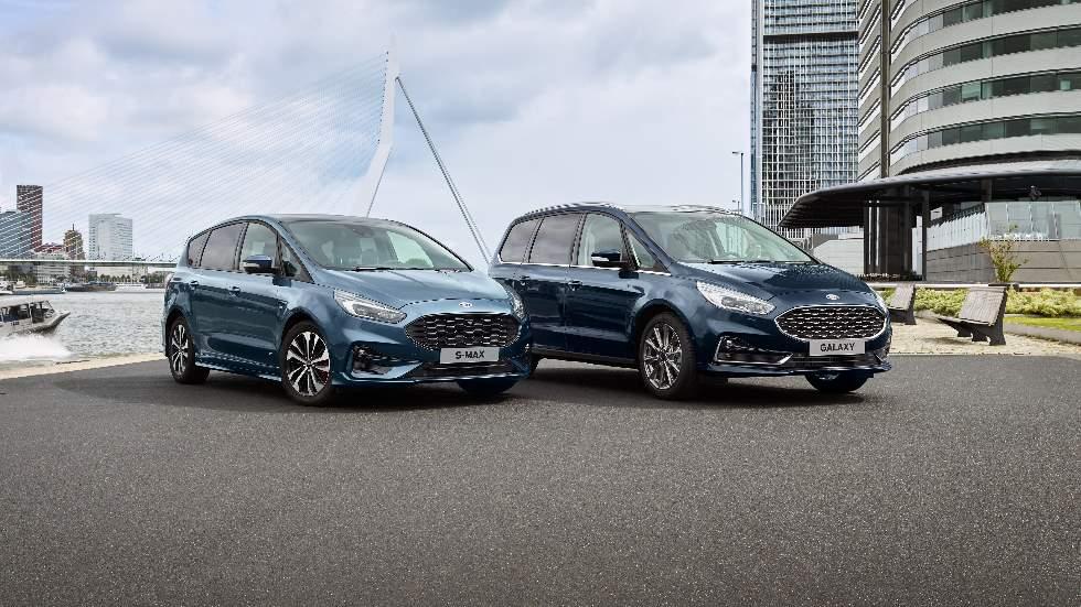 Ford S-Max y Galaxy 2020: más equipamiento para los familiares de Ford