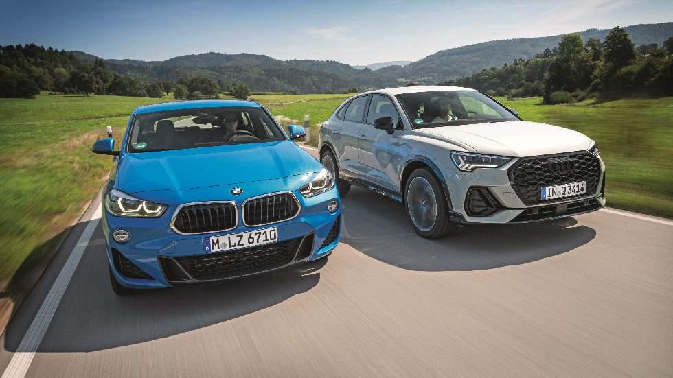 Audi Q3 Sportback vs BMW X2: ¿qué SUV coupé es mejor?