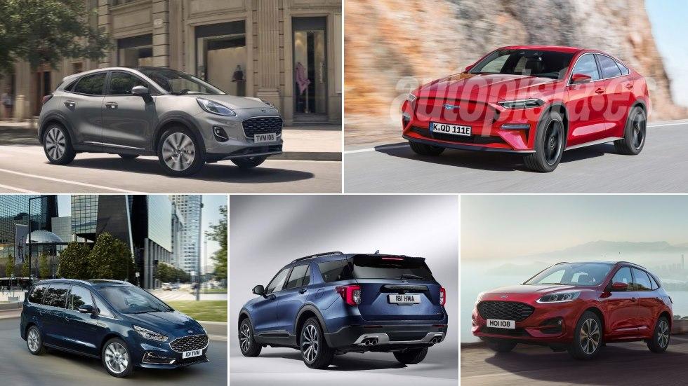 Todos los coches que Ford estrena ya y en 2020: Puma, Explorer, Kuga, S-Max…