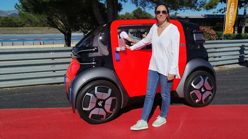 Al volante del Citroën Ami One Concept, movilidad urbana eléctrica para todos