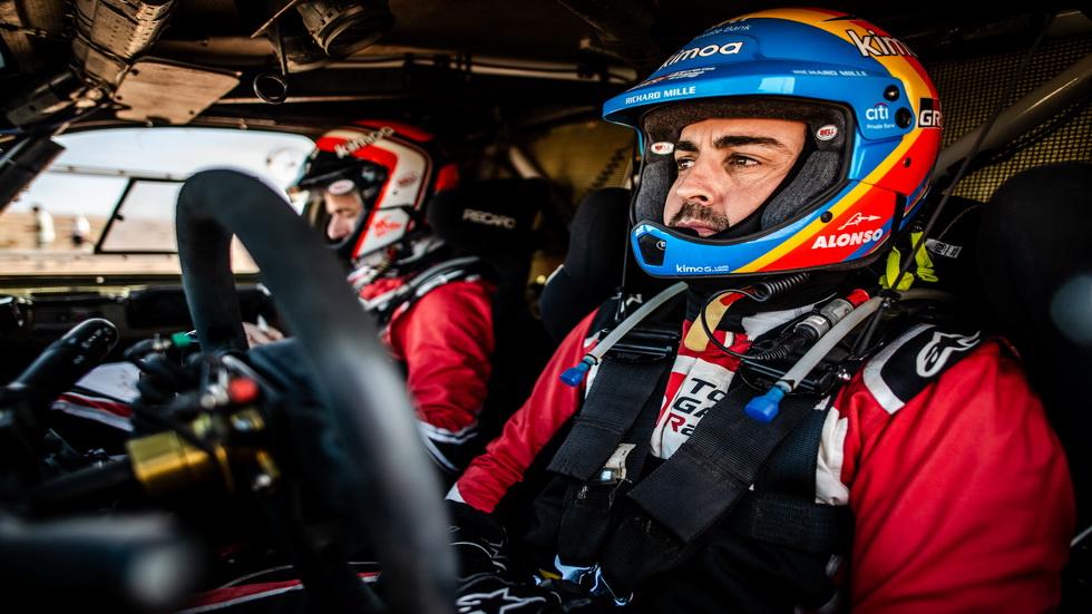 Rally de Marruecos: Carlos Sainz segundo y Fernando Alonso logra terminar