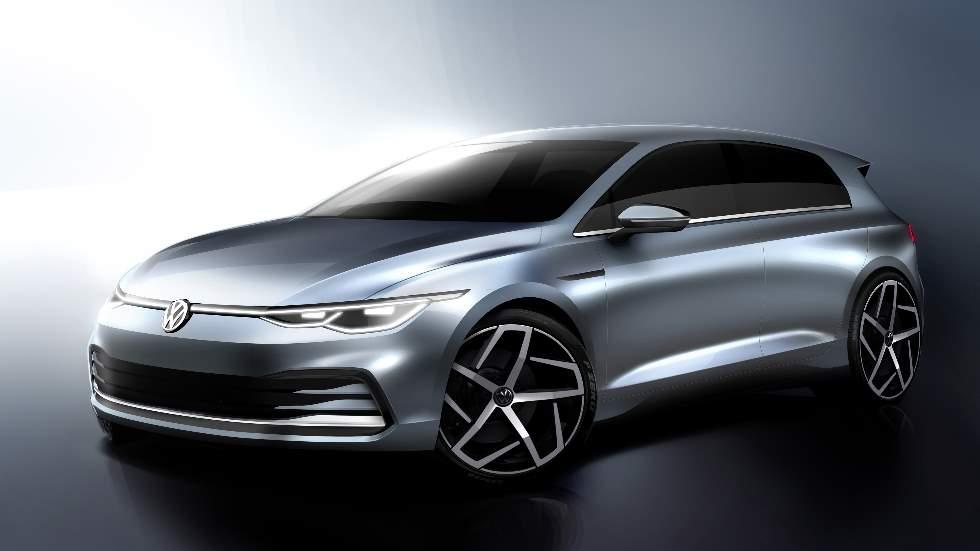 VW Golf 8 2020: nuevas imágenes, vídeo y fecha de presentación