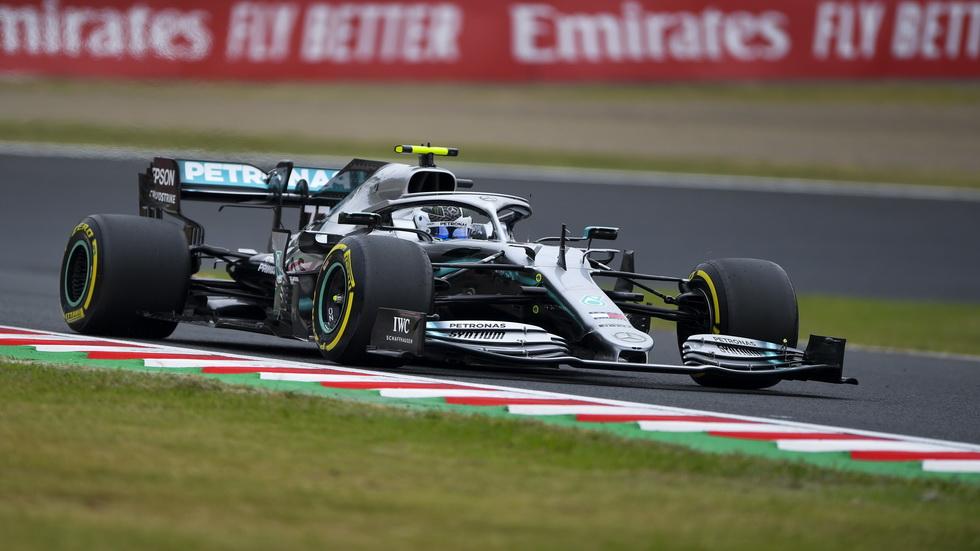 GP de Japón de F1 (FP1): los Mercedes, imbatibles