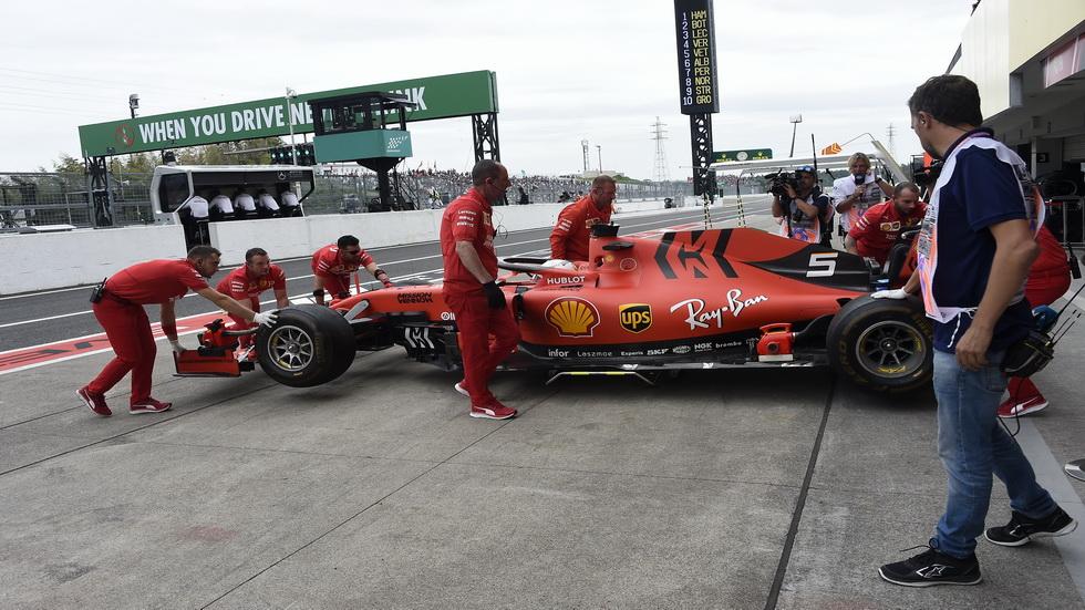 GP de Japón de F1: la parrilla podría conformarse con los tiempos de la FP2